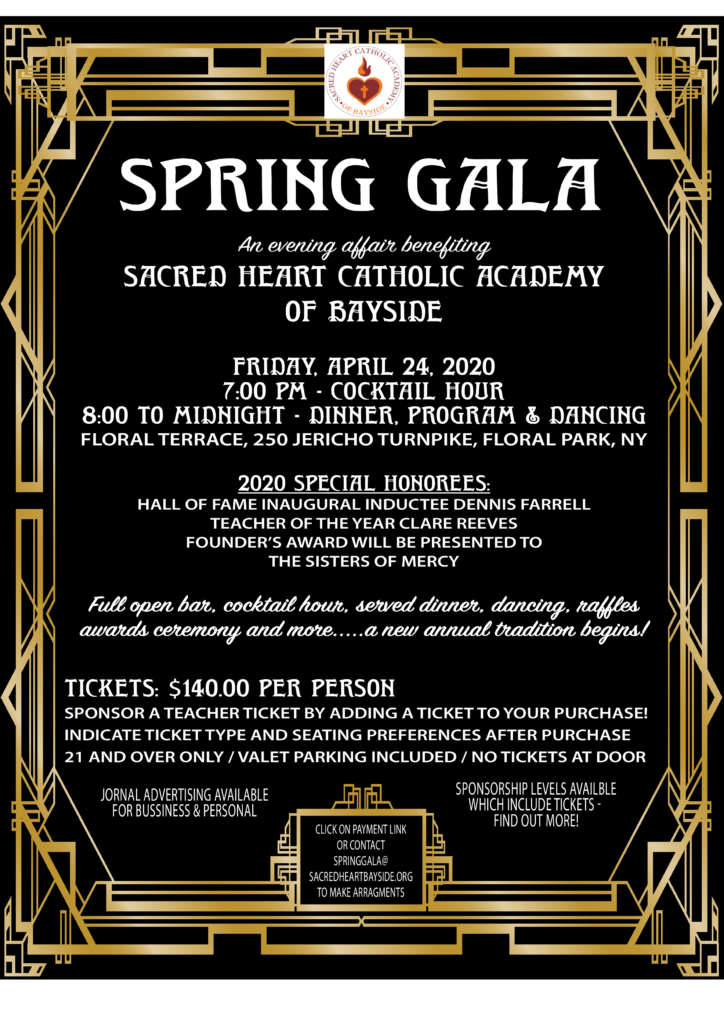 Spring Gala Tickets